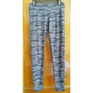 Champion Duo Dry Leggings, Black & Gray Size M